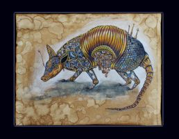 Armadillo by IliEve