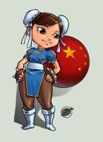 chun lee chibi by estivador