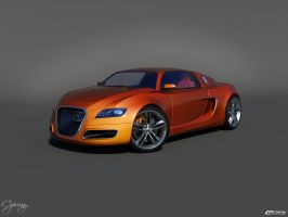 Audi OniX Concept 8 by cipriany