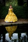 Belle - The Beauty and the Beast by Miwako-cosplay