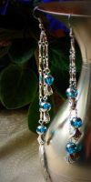 Shimmering Drops of Blue by Lake-Fairy-Creations