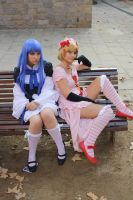 Bernkastel and Lambdadelta: Waiting by xxEtsuko