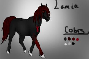 Lamia Ref by DarksDespair