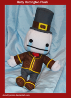 Hatty Hattington Plush by DonutTyphoon
