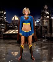 Allison Mack Supergirl by ThiagoCA