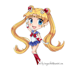 Chibi Sailor Moon by TenguxChan