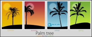 Palmtrees by AzizStyle