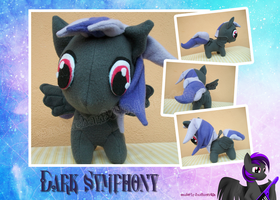 Dark Symphony Plush by LilyWinterharp
