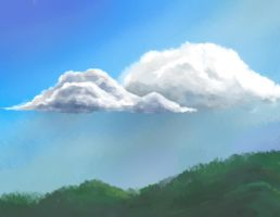 Sky and Clouds by longgi