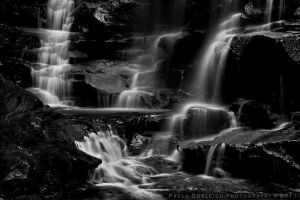 Sylvia Falls - NSW by La-Vita-a-Bella
