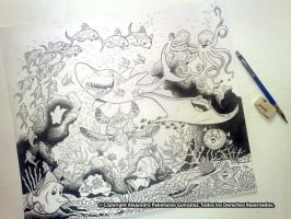 AQUARIUM JIGSAW-INKS by alexpal