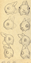 Wool Sketches by corvusraven