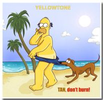 YELLOWTONE: TAN, don't burn by MonacoMac