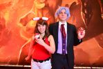 Pokemon ORAS May and Steven Stone by craftysorceress