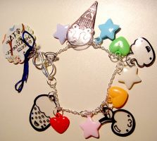 Sweets Charm Bracelet by deconstructedstars