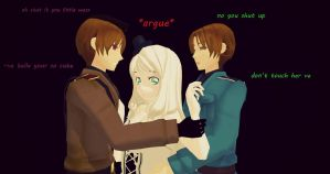 2P!italyxocxitaly- fight for love (request) by hetalia-fanart