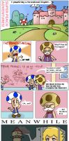 Peach Adventures! Page 1 by outlandishgreen