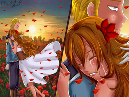 Germany and Tuscany (Hetalia OC) Love Story by MyangHime