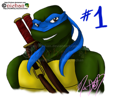 TMNT 30 Day Challenge - Day 1 by nichan