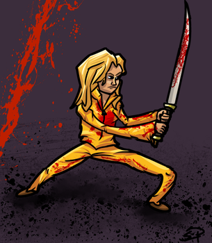 The Bride, Kill Bill. by elliotp