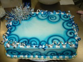 Blue Swirl Party Theme by Kahlan4