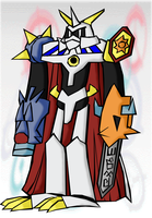 Omnimon by BoomerBOmb
