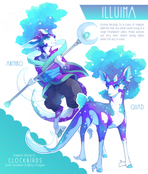 character reference: illuima by clockbirds
