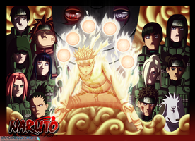 .: The War starts :.  Naruto by Mandiiine