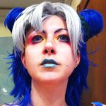 Jolyne Kujo - Stone Ocean (make-up test!) by dani-foca