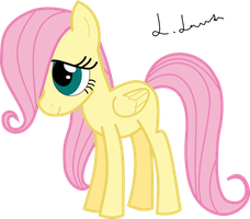 Young Fluttershy by und34d951