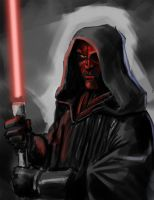 Darth Maul by geeshin