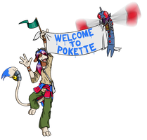 welcoming the new residents by coyotepack