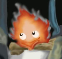 Calcifer by MustardPocky
