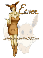 Eevee by LoveKraken