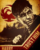 TRUST HARRY PROPAGANDA POSTER by Sx2
