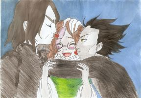 Snape, Pumpkin and Pitch by Margaret-Lupin