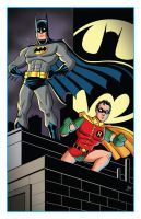 Batman and Robin by calslayton