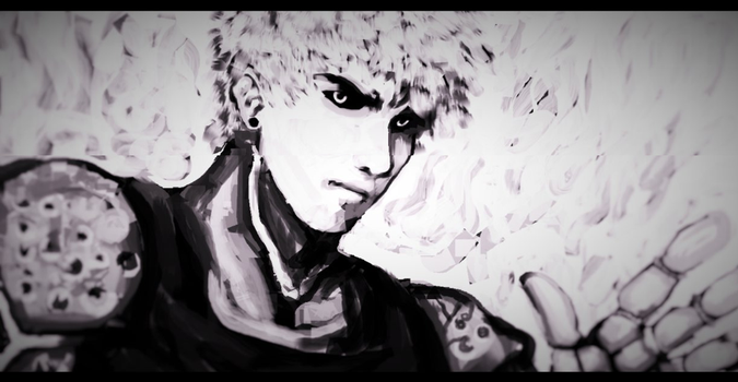 Genos sketch by TypicalTypes