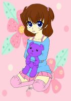 Little Girl With Her Teddy by FawkYewImaCosplayer