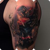 Superman by tat2shippey