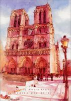 Notre Dame by AuroraWienhold