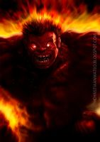 RED HULK - Speed Painting by MOROTEO56