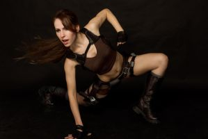 Lara Croft Tomb Raider Underworld Djungle shorts by milla-s