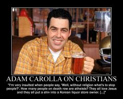 Adam Carolla on Christians by fiskefyren
