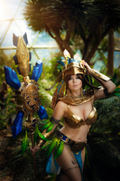 Mia Civilization online cosplay by MiuMoonlight