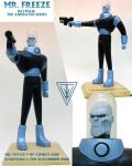 Mr. Freeze - sculpture by Timbone