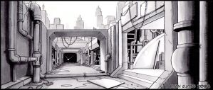 Environment 1 Storyboard by GatesuRyu