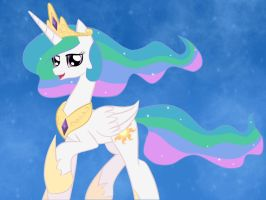 Princess Celestia of Canterlot by Bratzoid