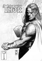 Thor Pencil by AdmiraWijaya