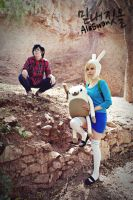 Fionna and Cake - FioLee Cosplay IV by MyobiXHitachiin